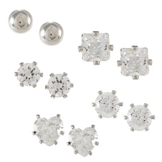 City by City City Style 5-piece Silver Stud Earrings Set|https://ak1.ostkcdn.com/images/products/7302337/City-Style-5-piece-Silver-Stud-Earrings-Set-P14774249.jpg?impolicy=medium