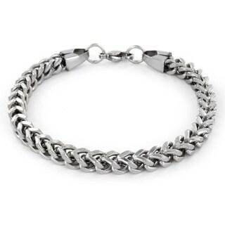 Stainless Steel Men's Franco Box Chain Bracelet