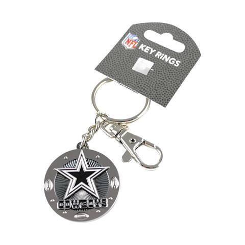NFL Id/Key Ring Swivel Clip Photo Holder Keychain