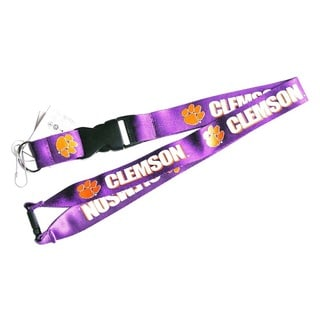 NCAA Clip Lanyard Keychain Id Ticket Holder