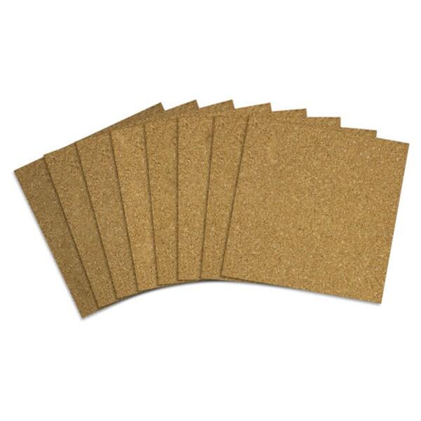 Acco 12x12 Brown Quartet Cork Tiles (Pack of 80)
