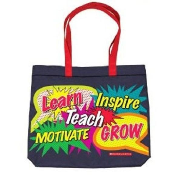 Words in Bursts Tote Bag