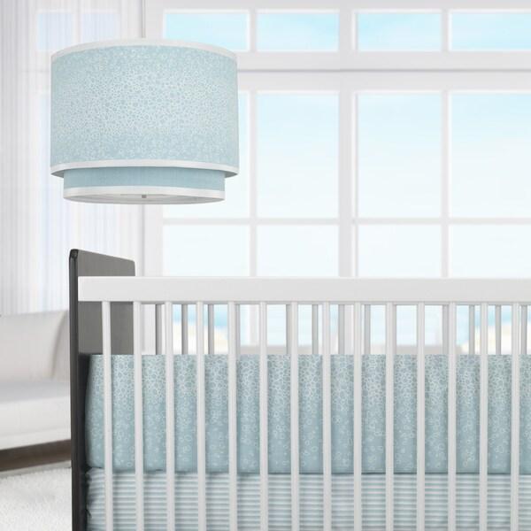 Oilo Raindrops Aqua 3-piece Crib Set
