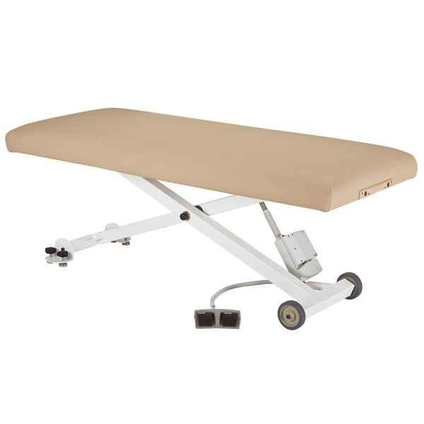 Essential Beige Lift Flat Massage Table