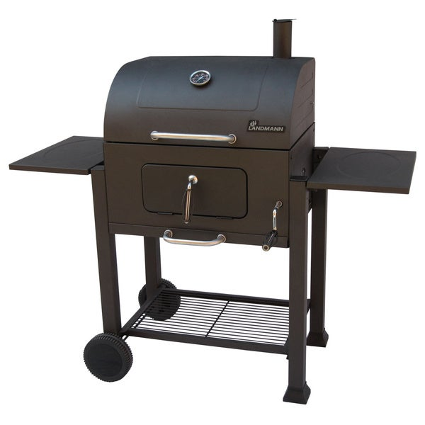 landmann vista charcoal cast iron bbq grill free. Black Bedroom Furniture Sets. Home Design Ideas