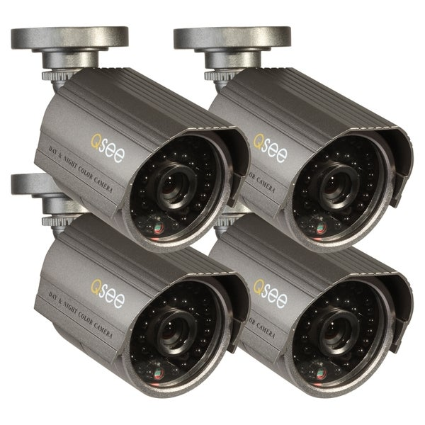 Q-see QM6008B Surveillance Camera - 4 Pack - Color