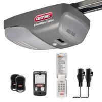 Genie SilentMax 1200 ¾ HPc Belt Drive Garage Door Opener with Added Wireless Keypad