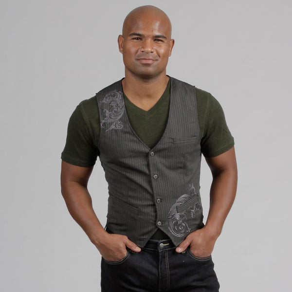 Pop Icon Men's Striped Vest