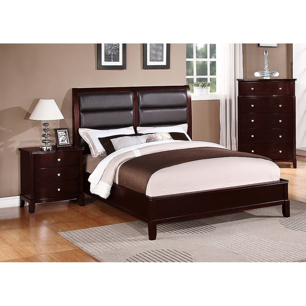 Kardish 3 piece queen size bedroom set free shipping for Bedroom 3 piece sets