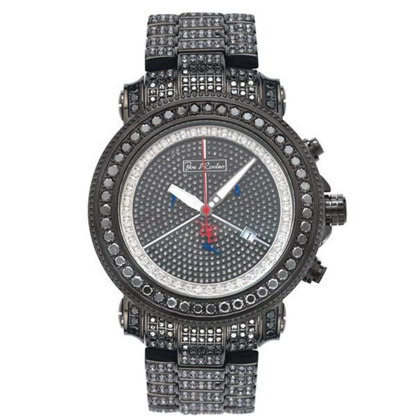 Joe Rodeo Men's 'Junior' Diamond Stainless-Steel Watch