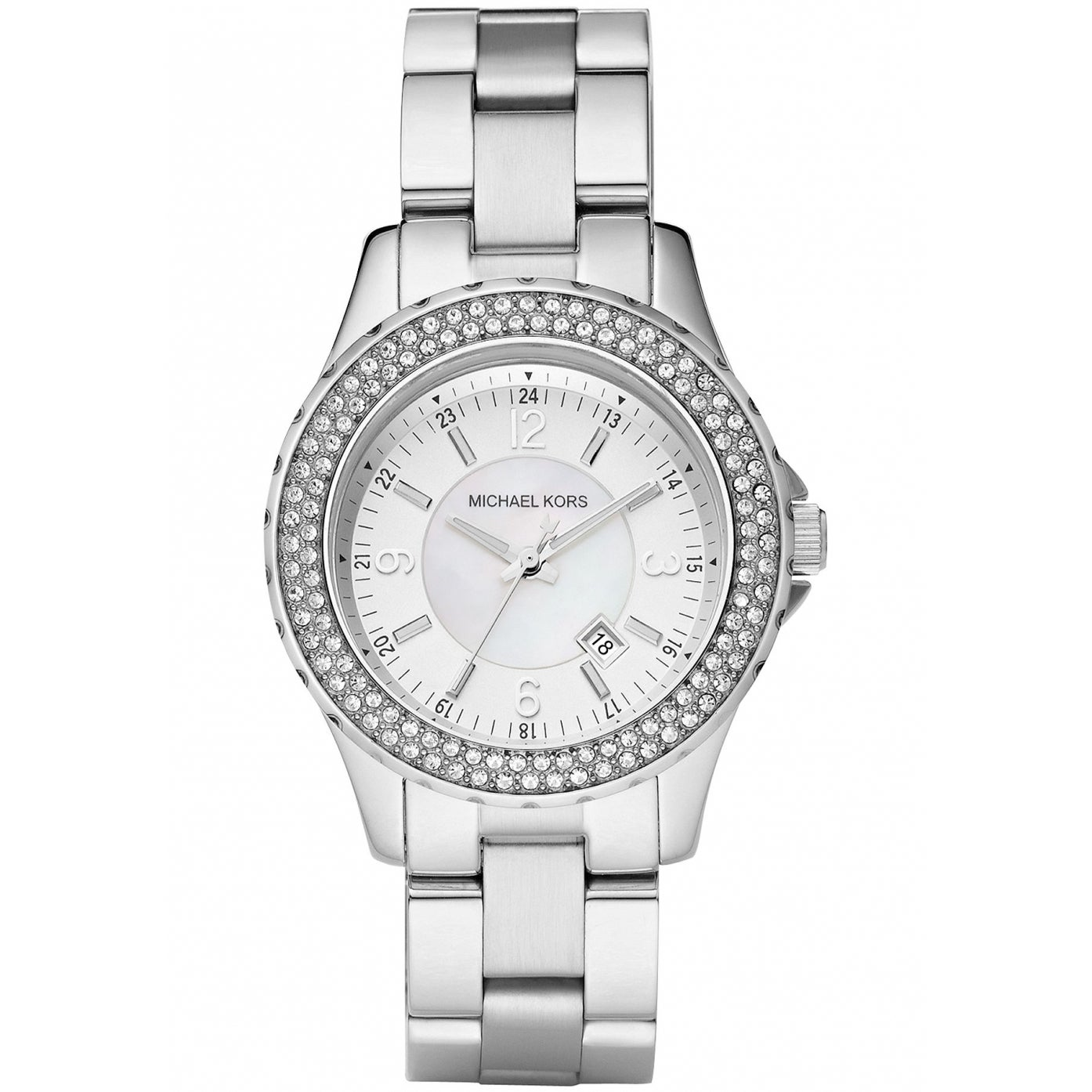 Michael Kors Women's MK5401 Madison Crystal Accented Stai...