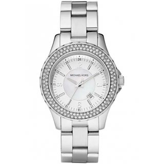 Michael Kors Women's MK5401 Madison Crystal Accented Stainless Steel Watch
