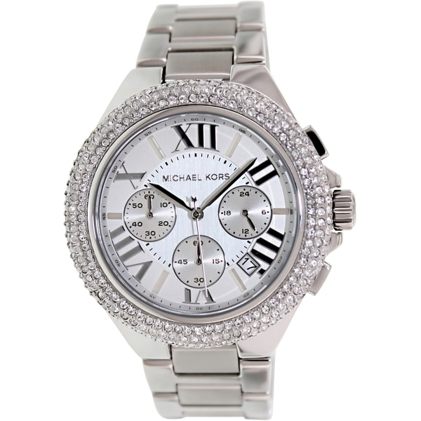 Michael Kors Women's MK5634 'Camille' Crystal-Accented Watch. Opens flyout.