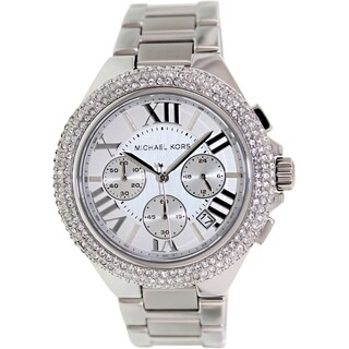 Michael Kors Women's 'Camille' Crystal-Accented Watch