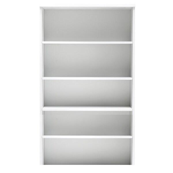 Jesper Office White High Bookcase