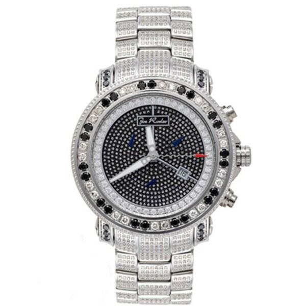 Joe Rodeo Men's 'Junior' Diamond Watch with Gift Box