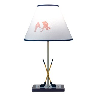 Cal Lighting Hockey Theme Youth Table Lamp