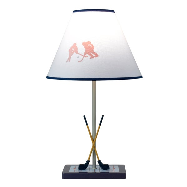 Cal Lighting Hockey Theme Youth Table Lamp