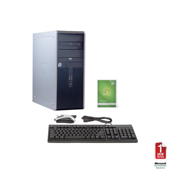 HP Compaq DC7900 Intel Core 2 Duo 3.16GHz CPU 2GB RAM 1TB HDD Windows 10 Home Minitower Computer (Re
