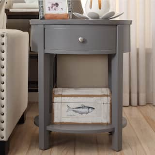 Grey Nightstands Amp Bedside Tables For Less Overstock Com