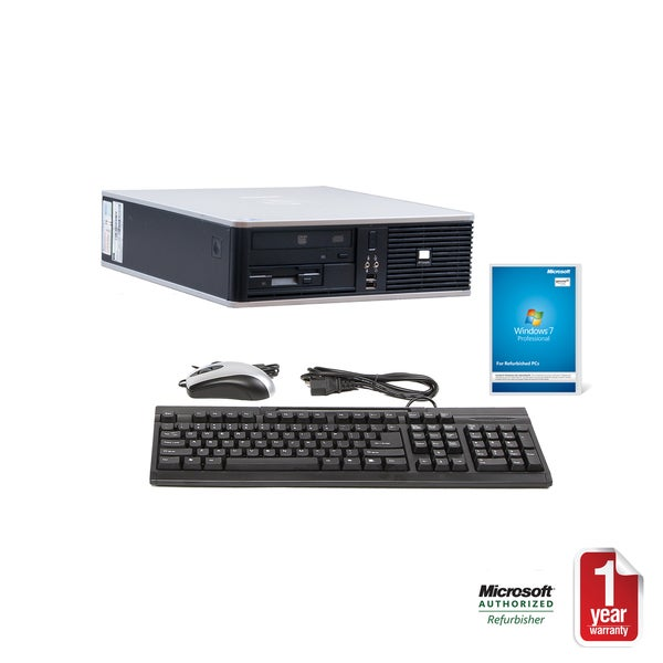 HP Compaq DC7900 Intel Core 2 Duo 3.33GHz CPU 4GB RAM 1TB HDD Windows 10 Pro Small Form Factor Computer (Refurbished)