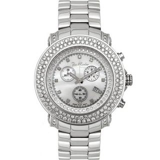 Joe Rodeo White Mother-Of-Pearl Men's 'Junior' Diamond Watch