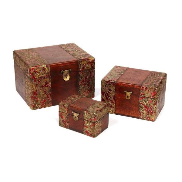 Handmade Meenakari Boxes (India)