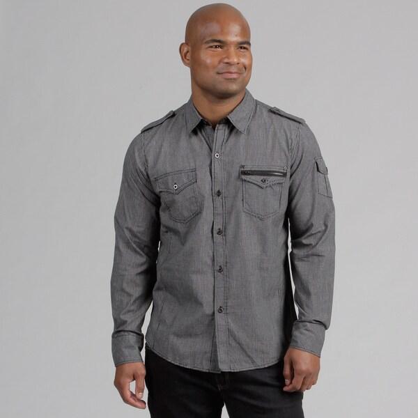 Pop Icon Mini Plaid Button Woven Shirt
