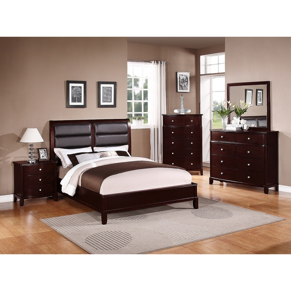 Shop kardish 5 piece queen size bedroom set free - Queen size bedroom furniture sets ...