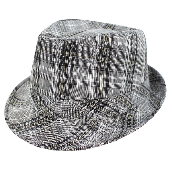 12a3c3c50db49 Shop Faddism Fashion Grey Fedora Hat - Free Shipping On Orders Over  45 -  Overstock - 7305052