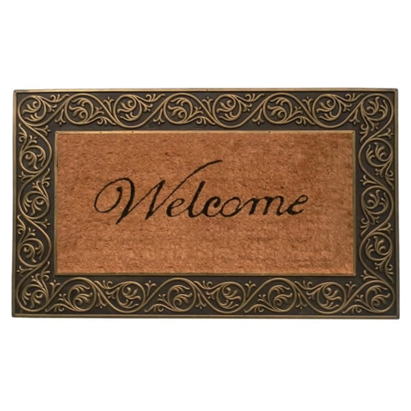 Prestige Gold Welcome Doormat (1'6 x 2'6)
