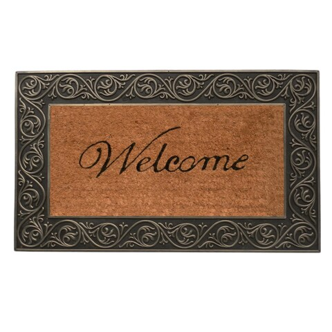 Prestige Silver Welcome Doormat (1'6 x 2'6)