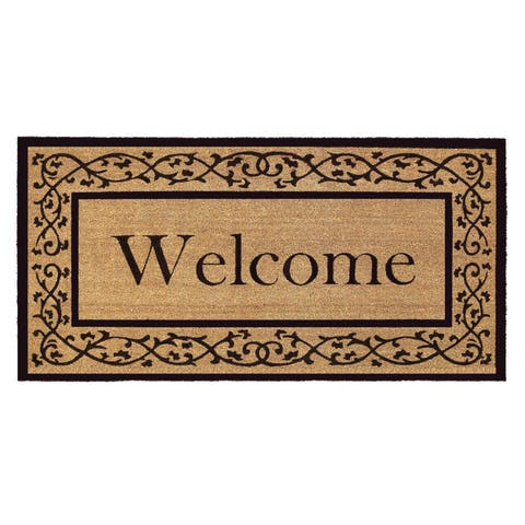 Buy Coir Door Mats Online at Overstock | Our Best Decorative