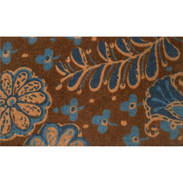 Coir with Vinyl Backing 17x29-inch Avondale Door Mat