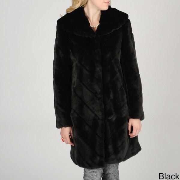 Nuage Women's Samara Faux Fur Coat