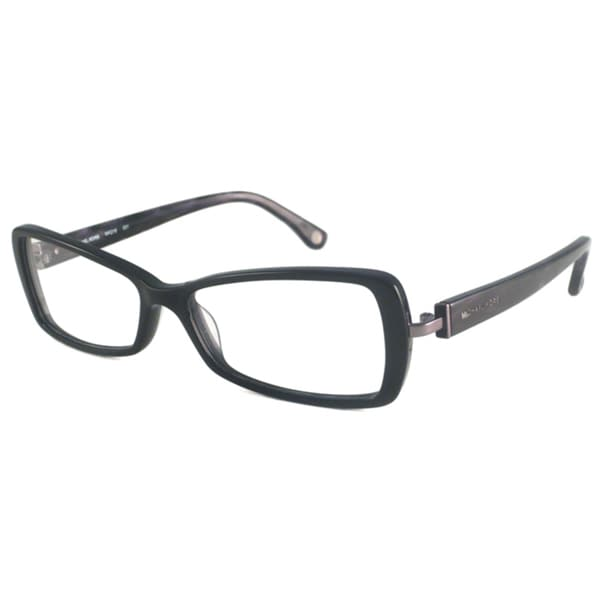 Michael Kors Readers Women's MK218 Black Rectangular Reading Glasses