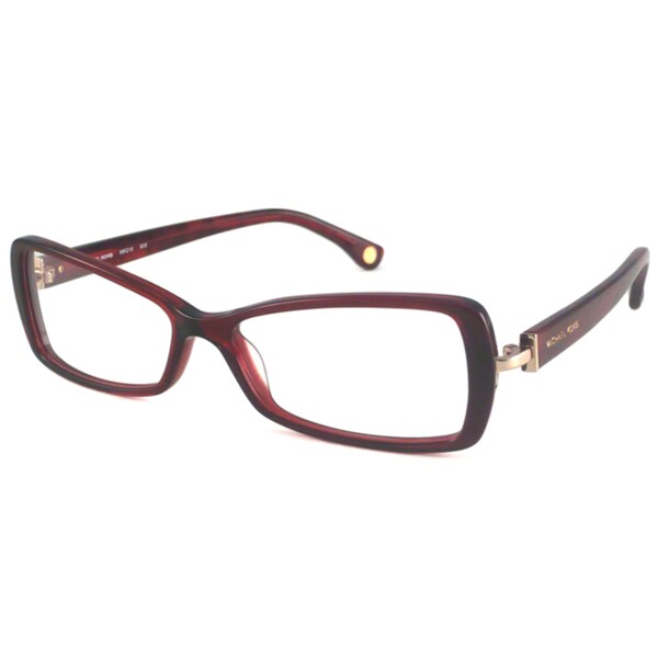 Michael Kors Readers Women's MK218 Red Rectangular Reading Glasses