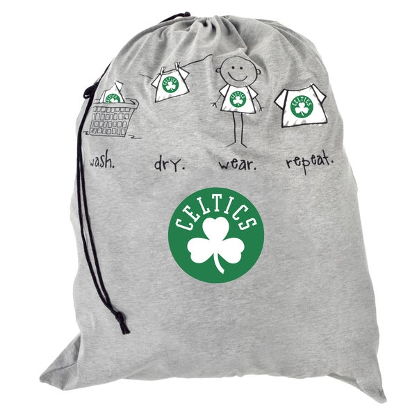 Forever Collectibles NBA Polyester Drawstring Laundry Bag