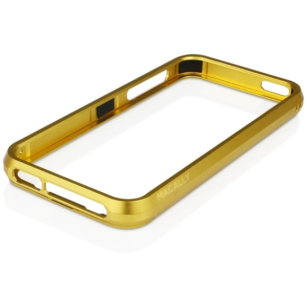 Macally Aluminum Frame Case (Gold Color)