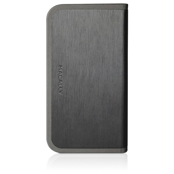 Macally Carrying Case (Folio) for iPhone - Black