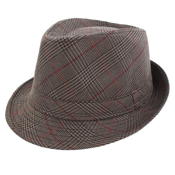 Faddism Fashion Dark Taupe Fedora Hat