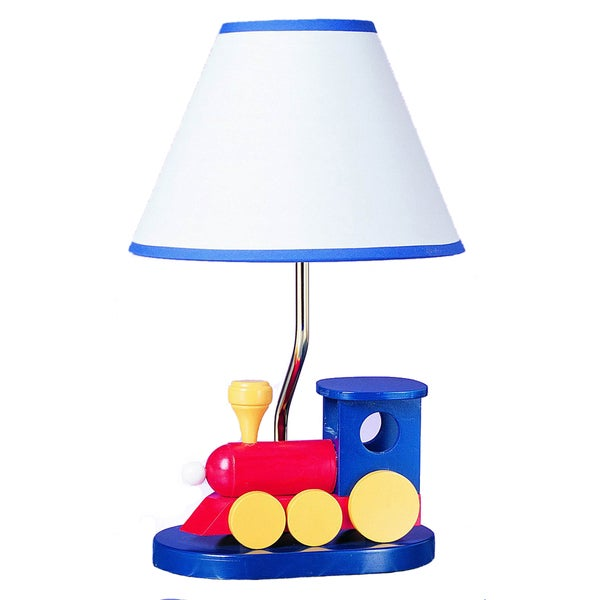 Cal Lighting Choo Choo Train Youth Table Lamp