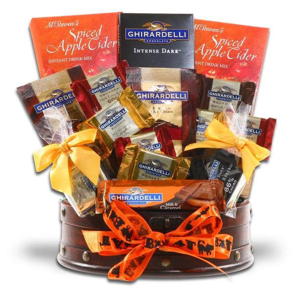 Alder Creek Gift Baskets-Ghoulish Ghirardelli Treats