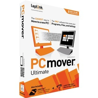 Laplink PCmover Ultimate with High Speed Transfer Cable - Complete Pr