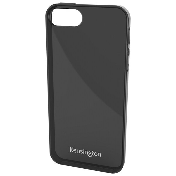 Kensington Gel Case for iPhone 5 - Smoke Black