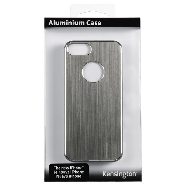 Kensington Aluminum Finish Case for iPhone 5 - Grey