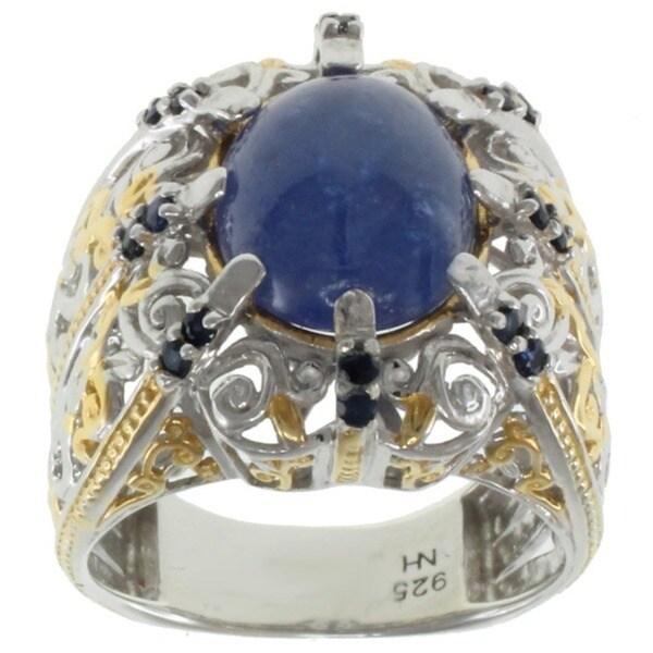 Michael Valitutti Two-tone Tanzanite Ring