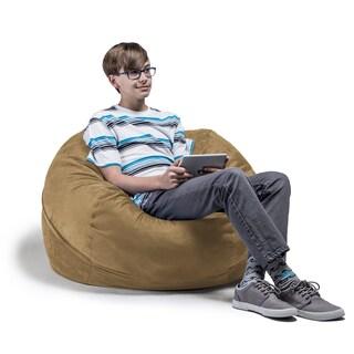 Jaxx 3' Kids Bean Bag Chair (Option: Camel)