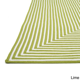 Hand-braided Cromwell Indoor/Outdoor Rug (9'3 x 13')