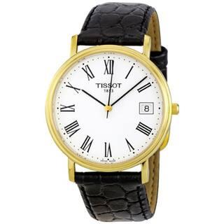 Tissot Men's T52.5.421.13 'Desire' Goldtone Classic Watch|https://ak1.ostkcdn.com/images/products/7307527/P14778422.jpg?impolicy=medium